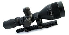 AIM 3-9X40 AO P4 SNIPER MINI SCOPE KIT FOR RUGER RANCH RIFLE RAIL RINGS COMPLETE