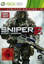 Xbox 360 Sniper Ghost Warrior 2 Limited Edition OVP como nuevo