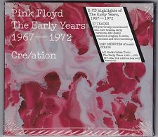"Pink Floyd ""CRE/ATION: THE EARLY YEARS 1967-1972"" 2-CD Set (2016 Issue)(Mint)"
