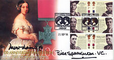 2006 Victoria Cross (Stamps) - Scott Off - Signed by WATKINS & SPEAKMAN  VC's