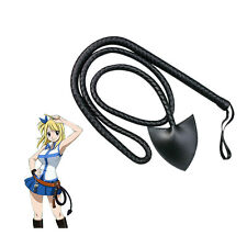 Anime Fairy Tail Lucy Heartfilia Leather Star Whip Cosplay Acces Prop Halloween