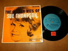 SUE THOMPSON - THE GOLDEN HIT OF - EP NEW ZELAND HMV 6088 / LISTEN -TEEN POPCORN