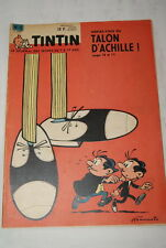 TINTIN JOURNAL  N°8 - 1961  EDITION BELGE