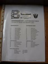 26/01/2013 Birmingham City Youth v Nottingham Forest Youth [At Wast Hills] (Sing
