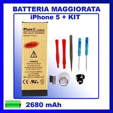 Batteria Maggiorata Gold Iphone 5 + Tool Kit