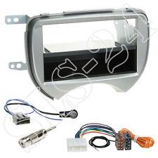 Nissan Micra Doppel-DIN Blende Radioblende+Fach + ISO Radioadapter Antenne Set