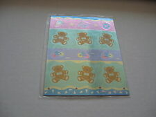SANRIO JF (Just For Fun) ARTBLOOM STICKERS METALLIC SEAL CYCLE VINTAGE 1991