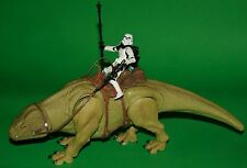 STAR WARS LEGACY DEWBACK & SANDTROOPER WAL-MART EXCLUSIVE LOOSE COMPLETE