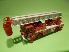 JOAL TRUCK LADDER 44 - FIRE DEPARTMENT - RED 1:50 - GOOD CONDITION