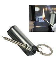 Survival EMERGENCY Camping FIRE STARTER Flint Metal MATCH LIGHTER Lasting GIFT
