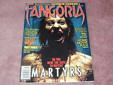 FANGORIA # 281, Martyrs, Last House on the Left, Watchmen FX, Free Shipping USA