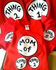 Dr. Seuss thing T SHIRT 1 2 3 4 5*** PRIORITY MAIL*** TODDLER INFANT adult youth