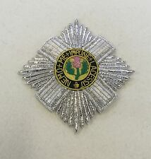 Order of Thistle Badge Hand Embroidered, Scotland Chivalry, Noble & Ancient
