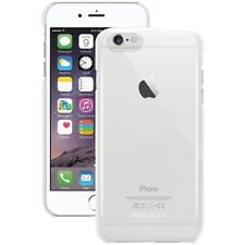 """MACALLY SNAPP6LC iPhone 6 Plus 5.5"""" Snap-On Case, (Clear)Thin & lightweight"""