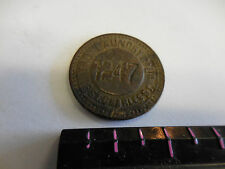 R-10 RARE TROY LAUNDRY CO. 116 ST CHARLES ST. #1247 TOKEN