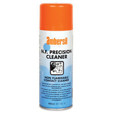 """AMBERSIL 6130001540 N F PRECISION CLEANER ( NON FLAMMABLE ) 400ml """"NEW"""" #L27"""