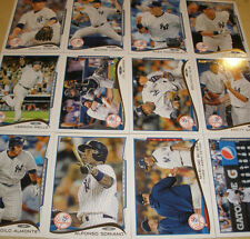 NEW YORK YANKEES Complete 2014 TOPPS MINI 22 Card Team Set ONLINE EXCLUSIVE