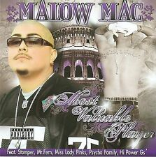 MALOW MAC-Most Valuable Player CD NEW