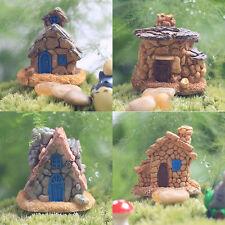 Giardino Fatato Miniatura Casa In Pietra Da esterno Ornamento DIY Arredamento