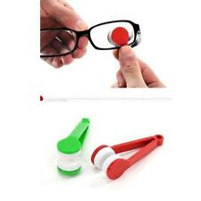Home Office Mini Sun Glasses Eyeglass Microfiber Brush Cleaner Clean Cloth jyl