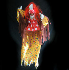 Lighted Clown Scary Funny Circus Haunted House Halloween Party Decoration Prop