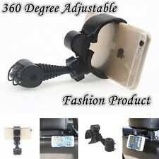 360 Degree Vehicle Mounted Rear Pillow Holder Mount For Cell Phone GPS Universal