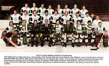 1973 NEW ENGLAND WHALERS TEAM PHOTO 8X10