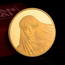 999 Gold Surface Saint Seiya Athena Commemorative COINS Collection 30 Anniversar