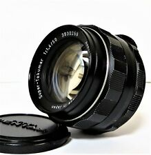 Asahi Pentax Super-Takumar 50mm f/1.4 Lens, Excellent Free Shipping