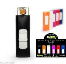 Briquet USB Orange Ecologique Rechargeable Par Prise USB