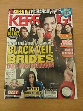 KERRANG! 1537 Black Veil Brides, Green Day Poster Special Amy Lee Finch  4/10/14