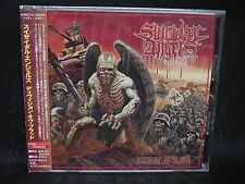 SUICIDAL ANGELS Division Of Blood + 2 JAPAN CD Sunburst Black Fate Biomechanical