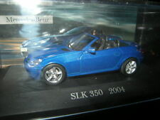1:43 Ixo Mercedes-Benz SLK 350 R171 2004-2009 blau/blue in VP