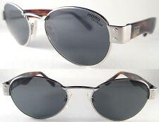 Stylish Momo Design unisex Sunglasses MS 14 03, Silver/Brown, metal/Plastic