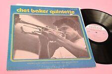 CHET BAKER LP QUINTETTE ORIG USA TOP JAZZ