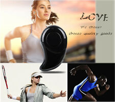 Smallest & Coolest! Mini Stereo Bluetooth Earplug Headphone Smart Earphone Black