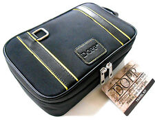 DOPP TRAVEL KIT BLACK FUNCTIONAL CASE ORGANIZER 3 CONTAINERS FOR CREAM COLOGNE