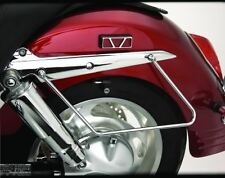 Honda VTX1300T VTX1300 T/Tourer - Chrome Saddlebag Supports/Stays/Guards (PAIR)
