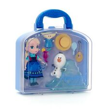 Orig.  Disney Elsa Animators Collection mini Puppe Prinzessin Eiskönigin Frozen