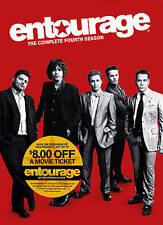 Entourage - The Complete Fourth Season (DVD, 2015, 3-Disc Set) Brand New