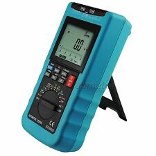 Digital Automotive MultiMeter Auto Range Fuel Injection RPM Engine Tester Tool