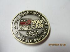 Army National Guard 2002 Leadership You Can Medal  These are my Values  L@@K