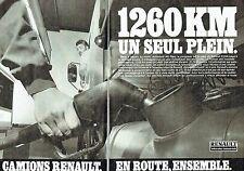 PUBLICITE ADVERTISING 0217  1984  Renault Véhicules Industriels (2p)  le R30