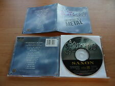 @ CD SAXON - A COLLECTION OF METAL / NWOBHM - EMI GOLD RECORDS 1996