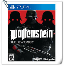 PS4 SONY PLAYSTATION Games Wolfenstein The New Order Shooting Bethesda