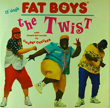 """Fat Boys - The Twist - 12"""" Maxi - C168 - washed & cleaned"""