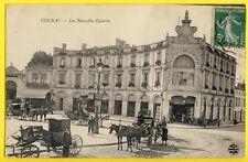 cpa COGNAC (Charente) Commerces NOUVELLES GALERIES Café François 1er Attelages