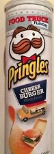 Pringles Food Truck Flavors Cheeseburger Potato Crisps 5.96 oz Can