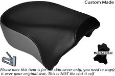 BLACK & GREY CUSTOM FITS HARLEY SPORTSTER IRON 883 1200 REAR SEAT COVER