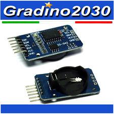 DS3231 AT24C32 IIC ALTA PRECISIONE RTC MODULO TIMER Clock Memory Module Arduino